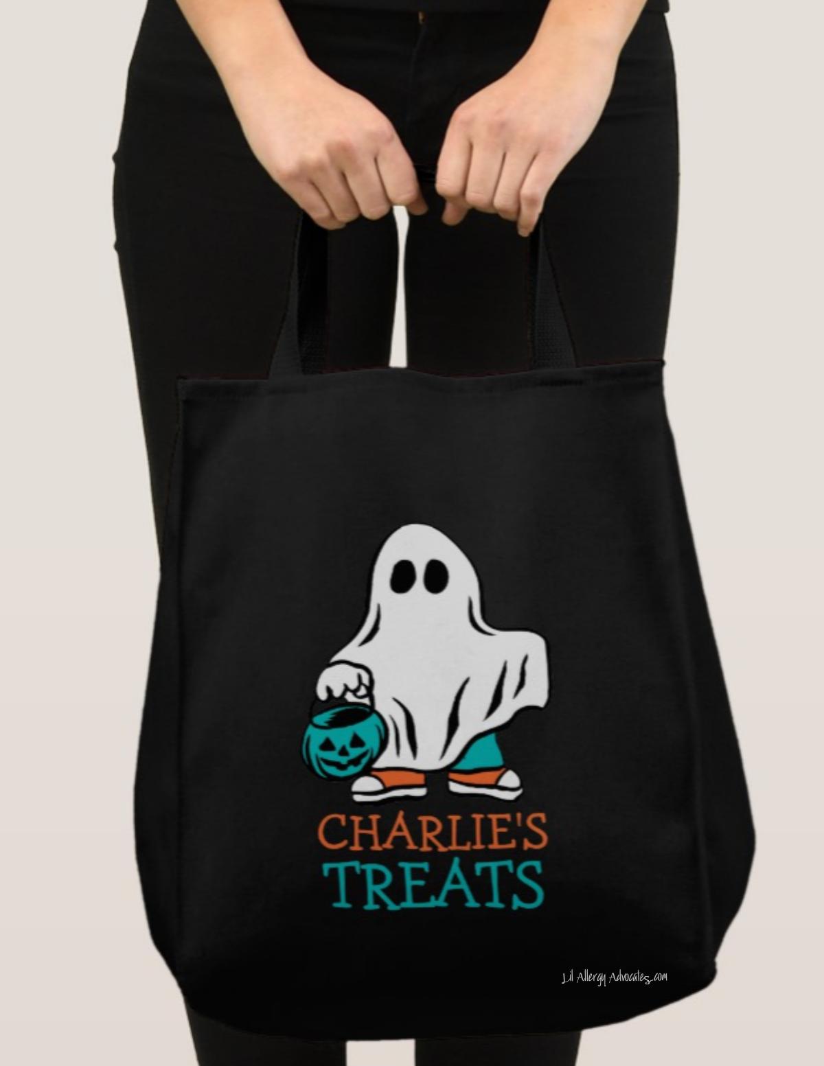 Teal Pumpkin Treat Bag