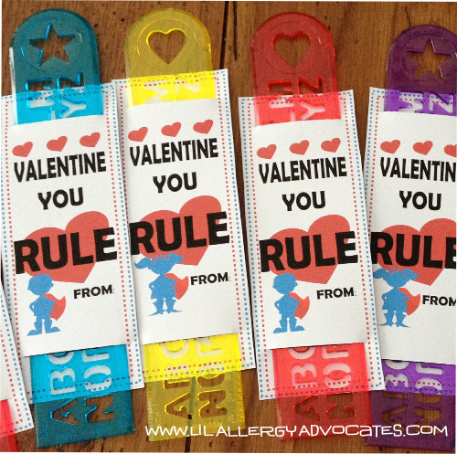 Valentine's Day You Rule Free Printable