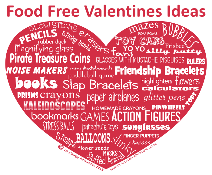 Food Free Valentine Ideas