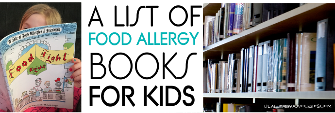 Children's Food Allergy Books