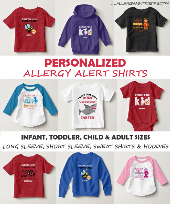 Allergy Alert Shirts