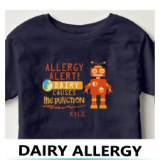 Personalized Allergy Alert Shirts