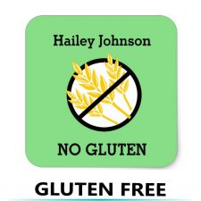 Food Allergy Stickers