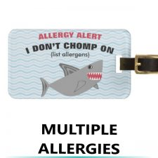 Double Sided Allergy Alert Tags