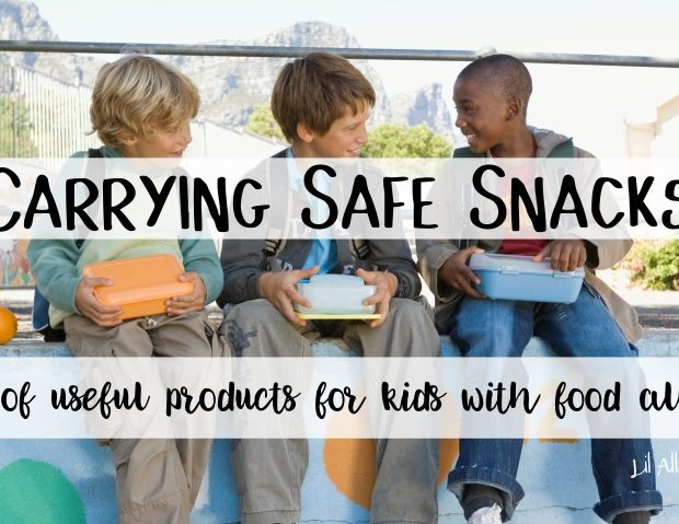 carrying safe snacks