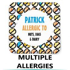Multiple Food Allergies Alerts