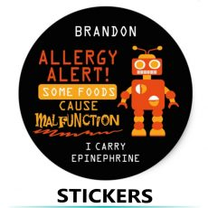 Kids Allergy Stickers