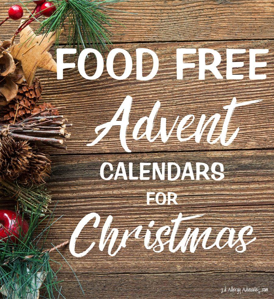 Food Free Advent Calendars