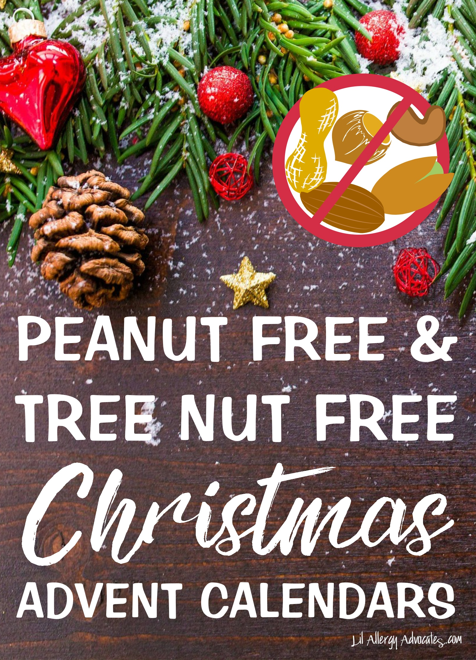 Nut Free Advent Calendar