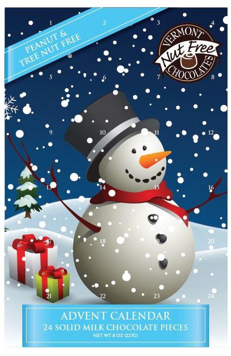 Nut Free Advent Calendars
