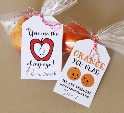 Valentines Day Candy Free Ideas Apples Oranges
