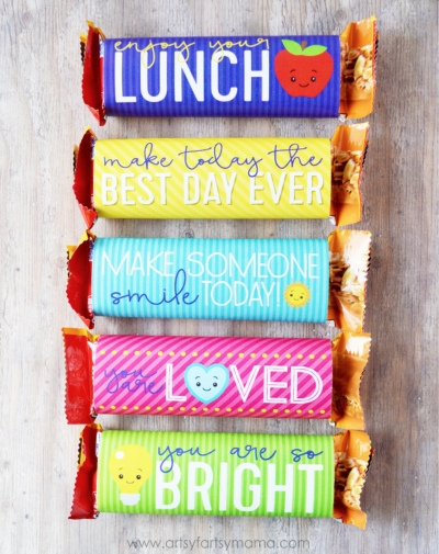 Valentines Day Candy Free Ideas Granola Bars