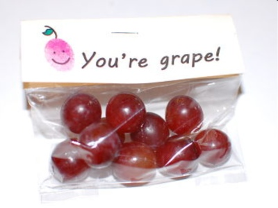 Valentines Day Candy Free Ideas Grapes