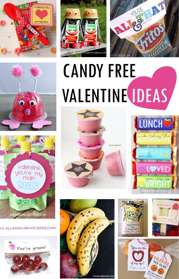 Candy Free Valentine Ideas