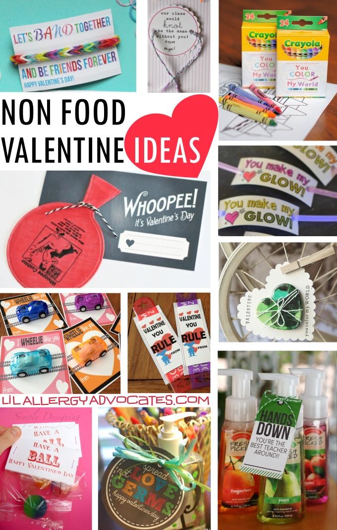 Food Free Valentines