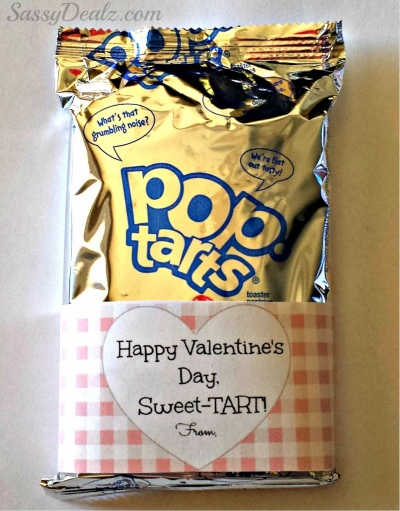 Valentines Day Candy Free Ideas Pop Tart