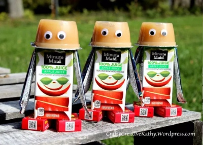 Valentines Day Candy Free Ideas juicebox robots