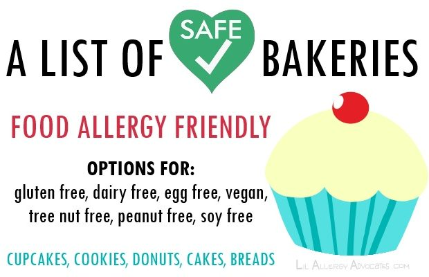 Food Allergy Friendly Bakeries