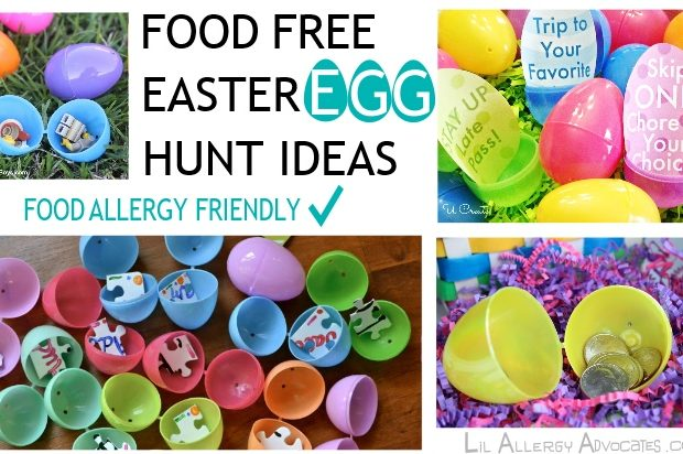 Food Free Easter Egg Hunt Ideas