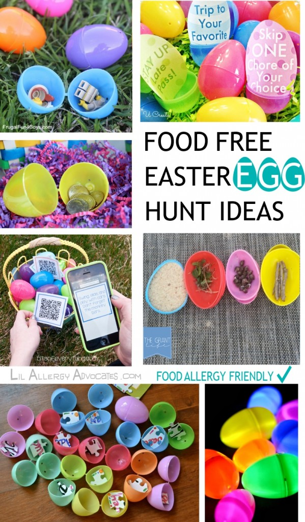 Food Free Easter Egg Hunt Ideas Lil Allergy Advocates