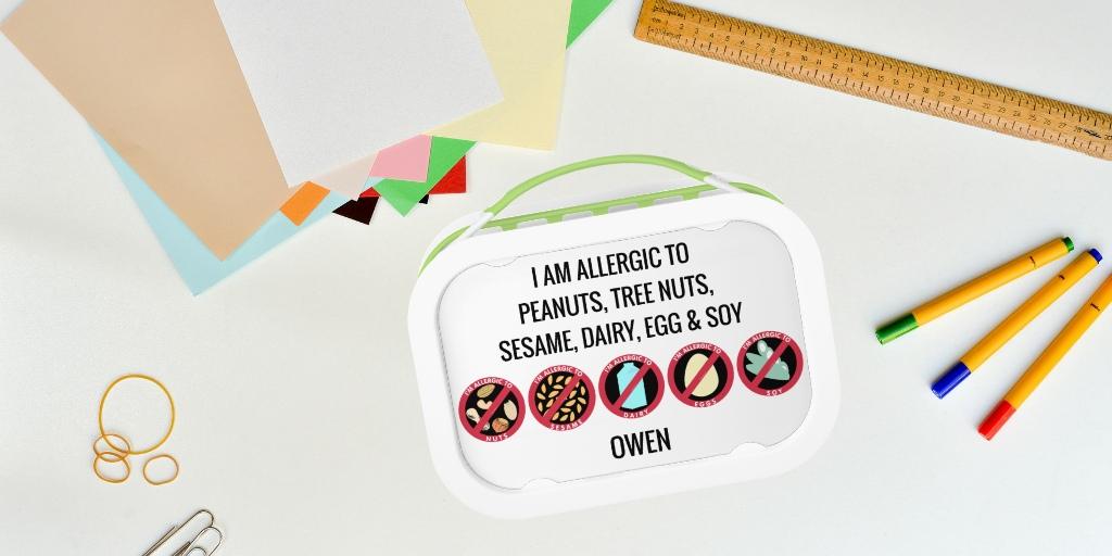 Allergy Lunch Box