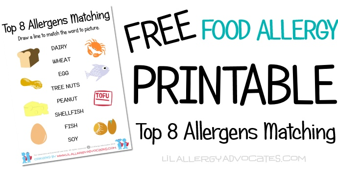 Printable Archives  Lil Allergy Advocates