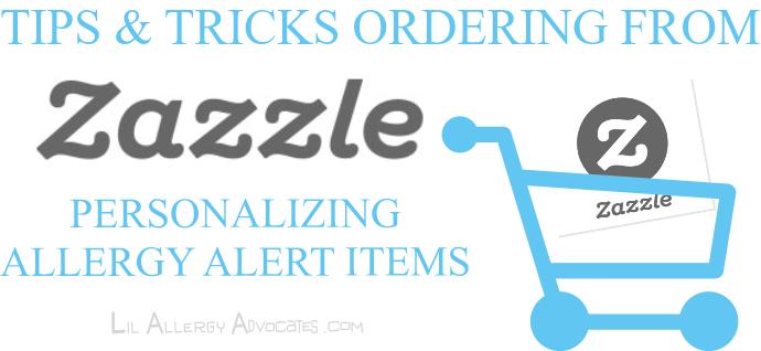 Zazzle Ordering Tips
