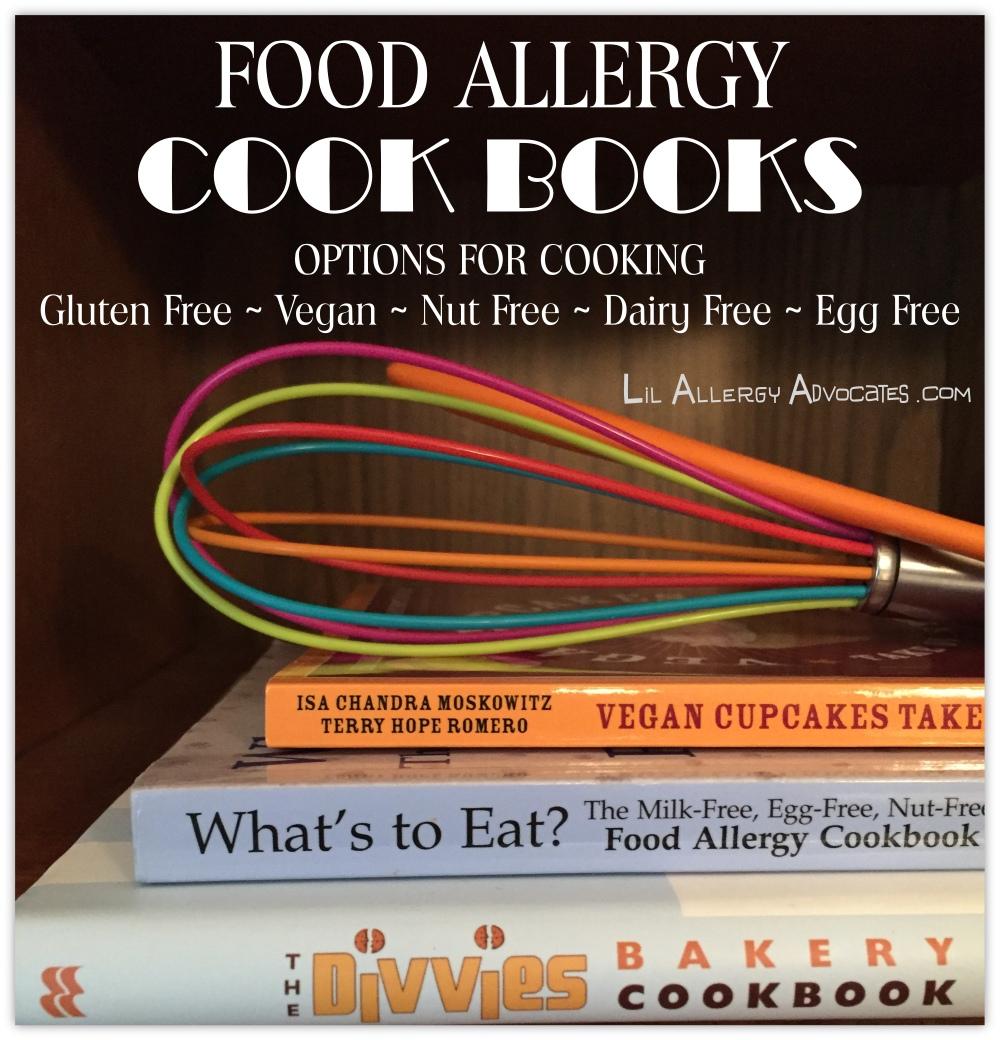 food allergy cookbooks