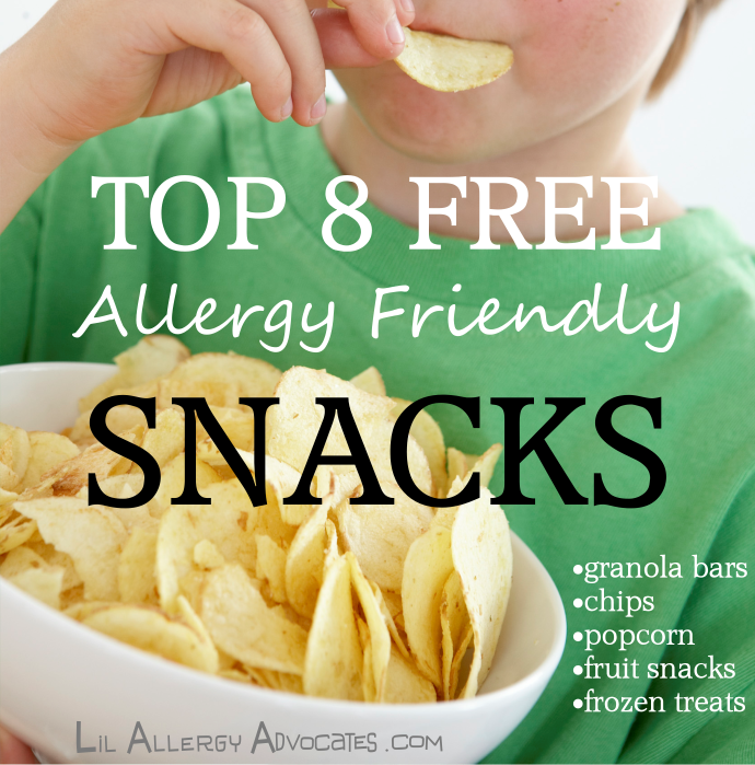 top 8 free snacks