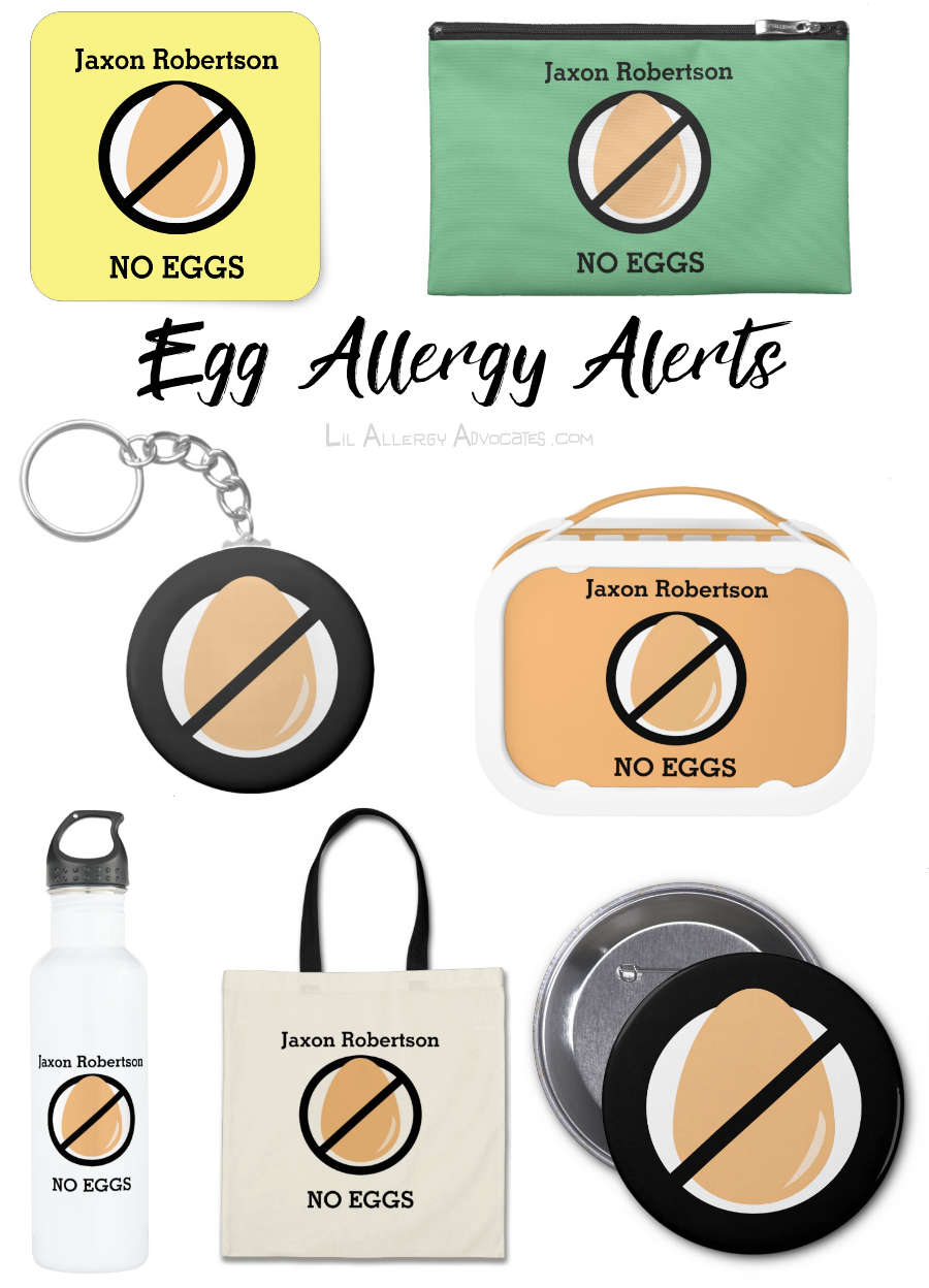 Custom Color Kids Personalized Allergy Alerts
