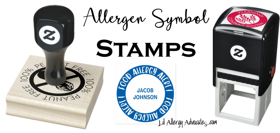 Self Inking & Rubber Allergen Stamps