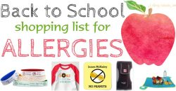 Must Have Allergy Items For Kids