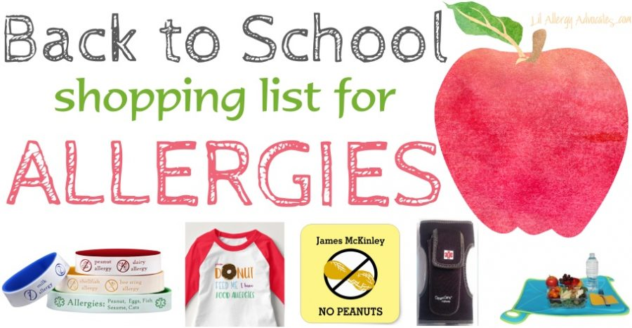 Must Have Allergy Items For Back to School