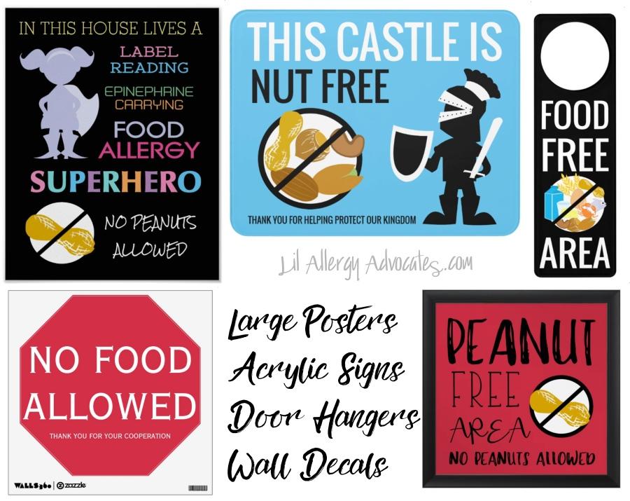 Allergy Alert Posters