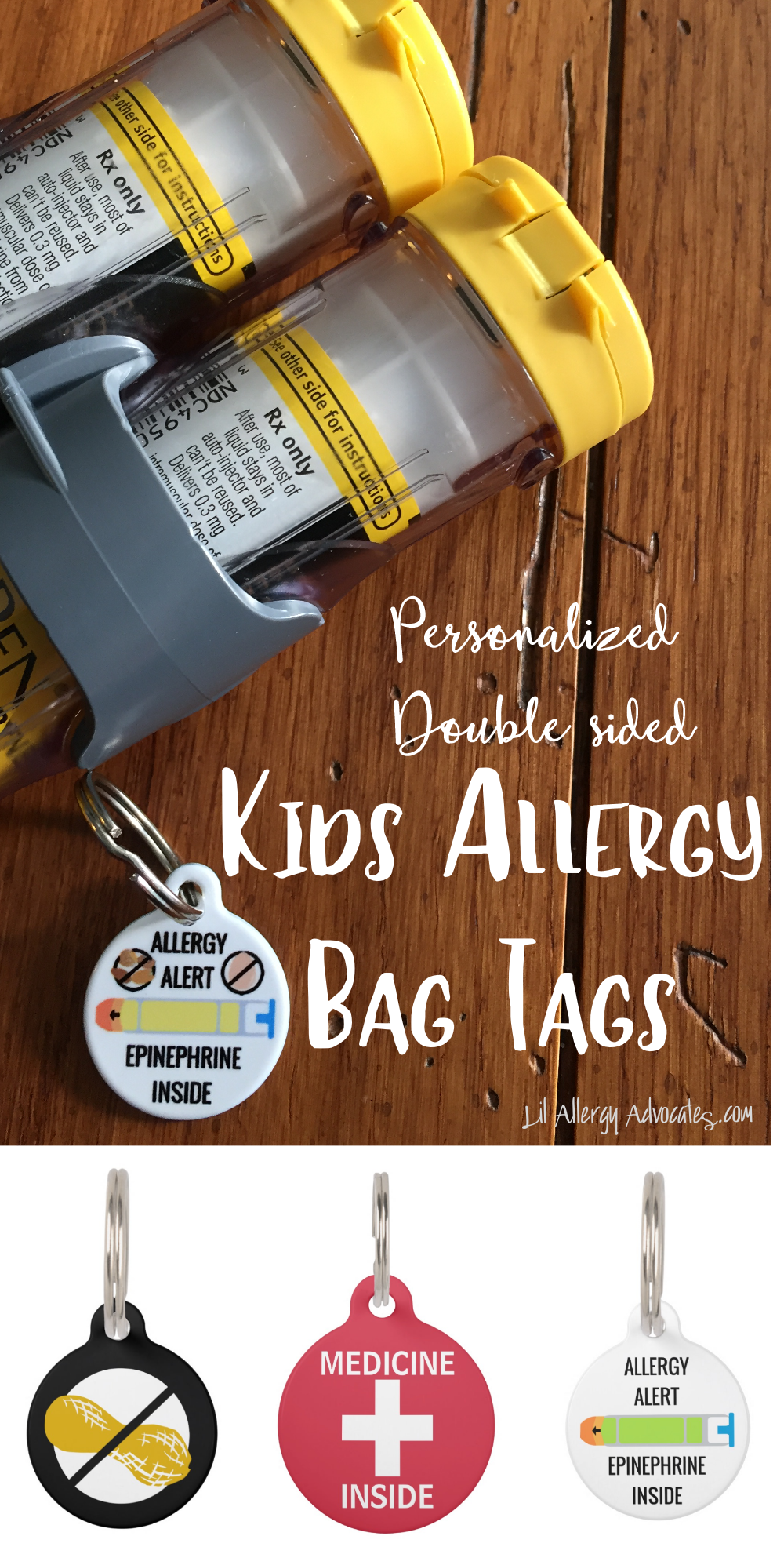 kids allergy tags