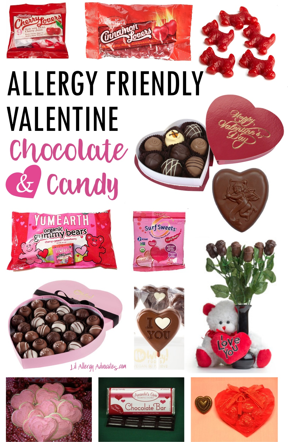 Allergy Free Valentine's Candy