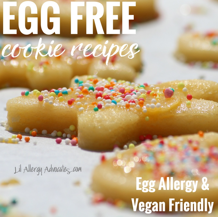 Egg Free Cookie Recipes