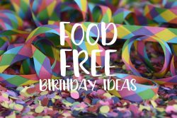 Food Free Birthday Ideas For School