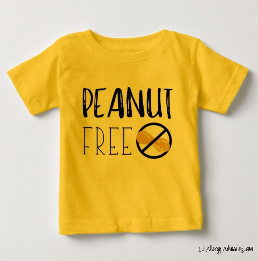 Peanut Free Kids T-Shirt