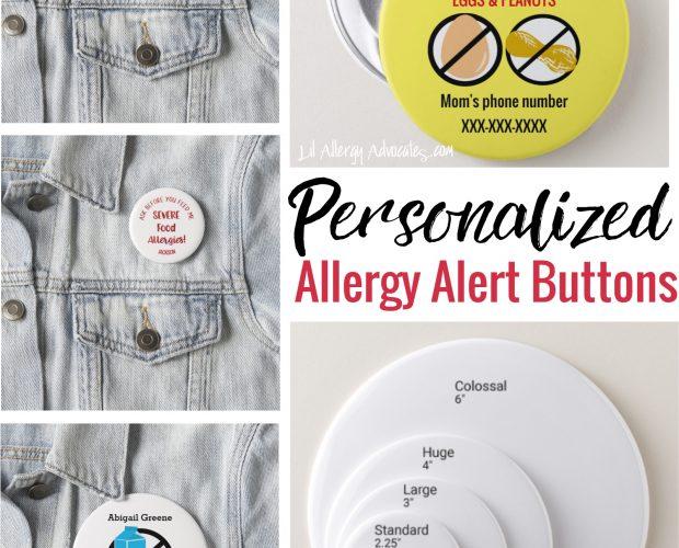 allergy alert button