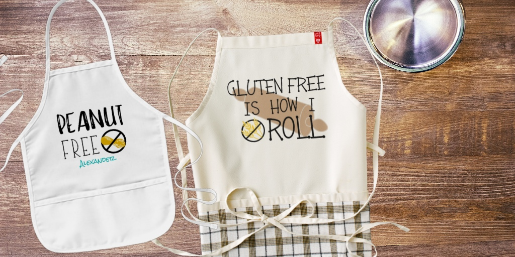 Allergy Aware Chef Aprons