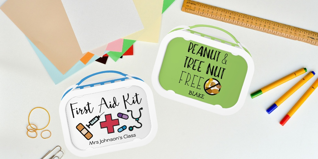 Personalized Allergy Alert Lunchbox