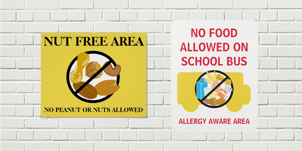Food Allergy Posters