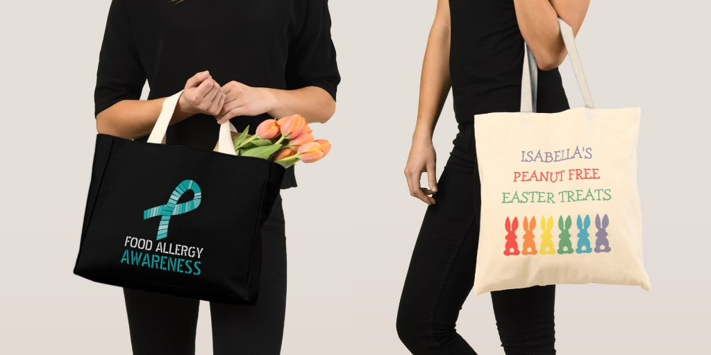 Food Allergy Tote Bag