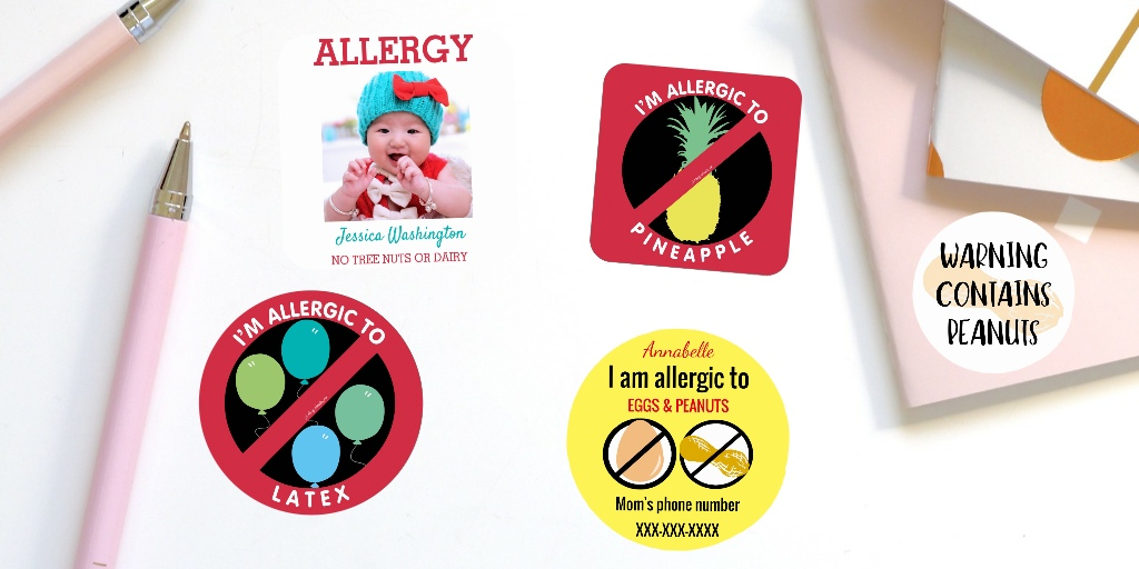Ways to Label for Food Allergies