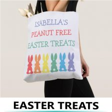 Easter Allergy Treat Bags