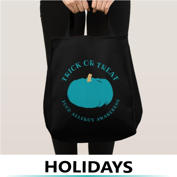 Teal Pumpkin Treat Bag