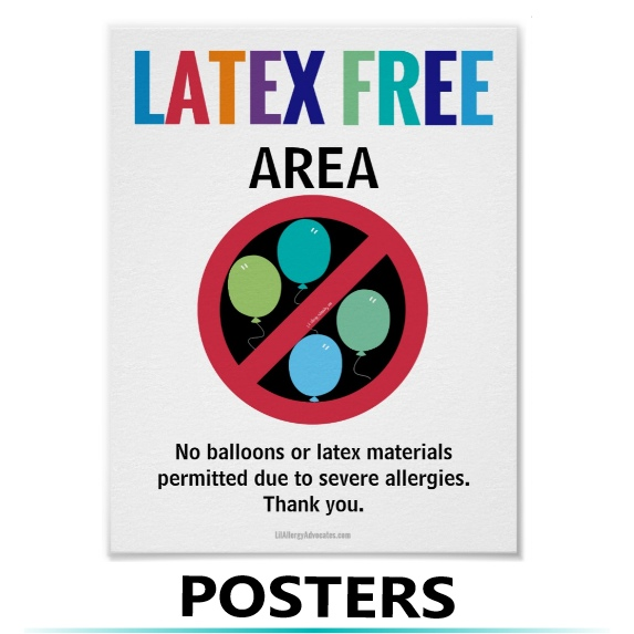 allergy posters