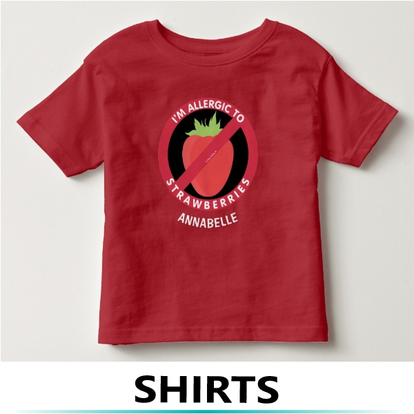 food allergy shirts